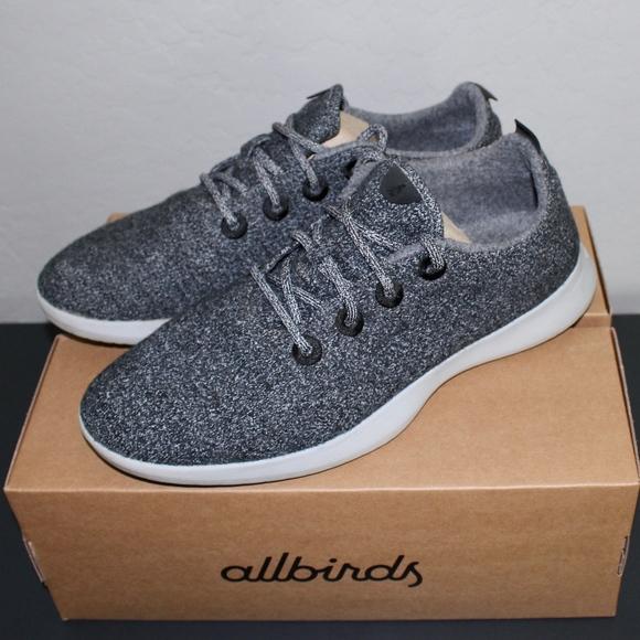 Allbirds Natural Grey Wool Runners Mens